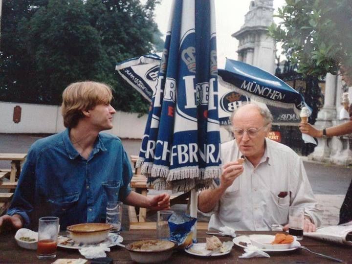 Иосиф Бродский в Лондоне, 1994 г.
