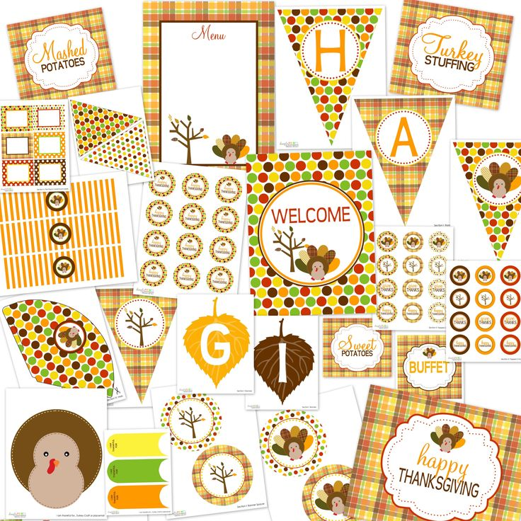 20 best thanksgiving labels thanksgiving label templates images on dimpleprints thanksgiving printable party packageee yadclub Choice Image