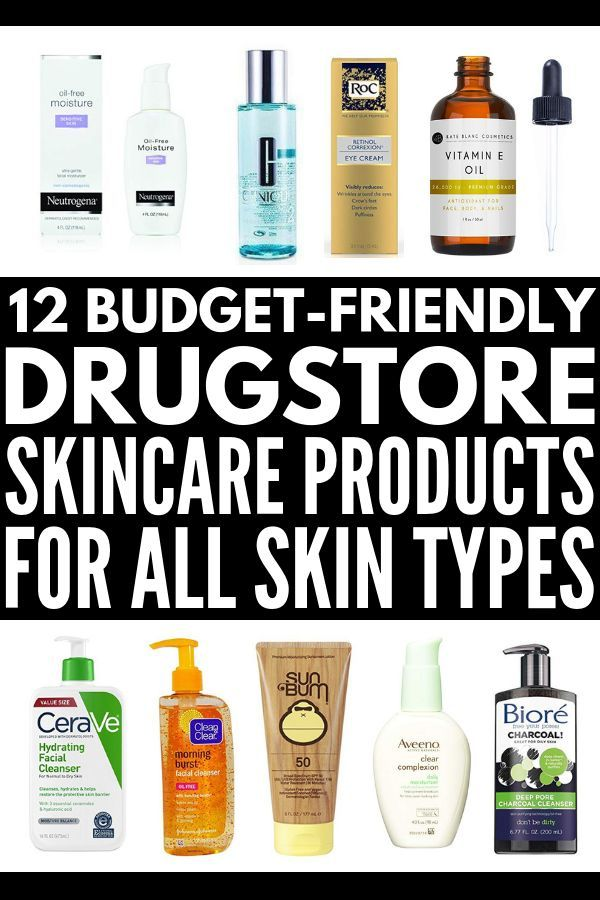 Beauty On A Budget 12 Best Drugstore Skin Care Products To Invest In Drugstore Skincare Anti Aging Skin Products Skin Care