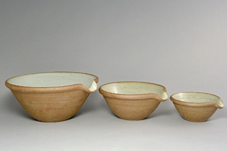 Leach Pottery mixing bowls