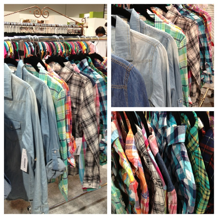 Plaid is hot hot hot!! We ordered ALL of these! Las Vegas magic trade show Chic style Utah