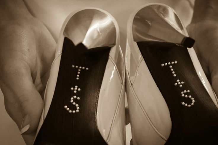 Brides shoes captured before the ceremony, Mount Carmel, PA  •  J. George Design, Williamsport Wedding Photographer  •  570-478-0557