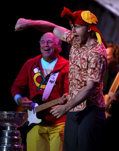 patrick kane 2013 | Patrick Kane Rocked Out With Jimmy Buffett and The Stanley Cup