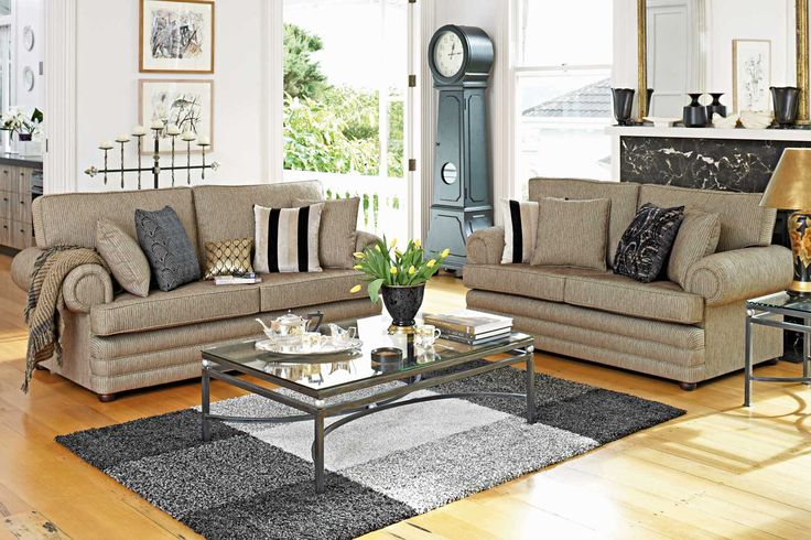 Jessie 2 Piece Lounge Suite - Fabric - Profile Furniture