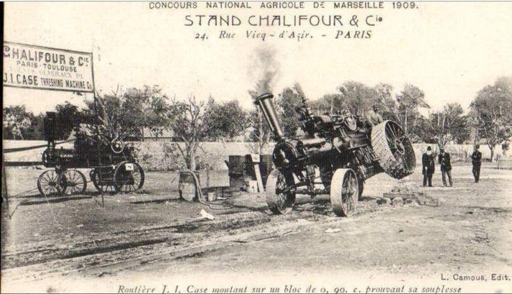 l'Histoire des LOCOMOBILES..........et tracteurs à toute vapeur !
