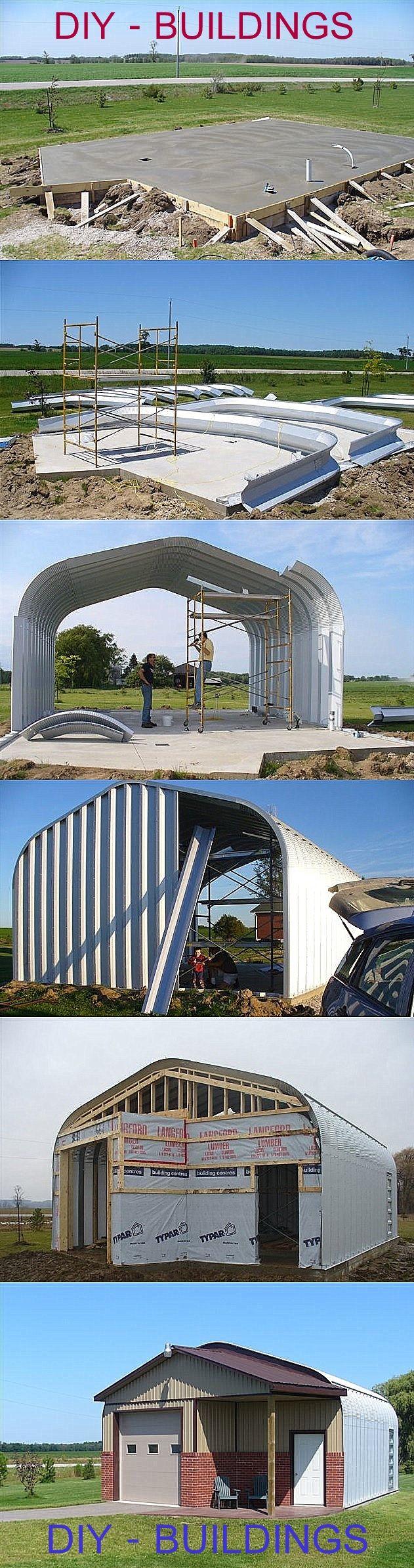 Great custom-made buildings including shop, garage, storage