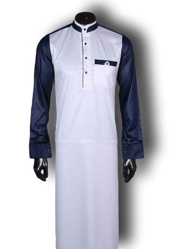 Kufnees Design 4095 Colour White with Blue