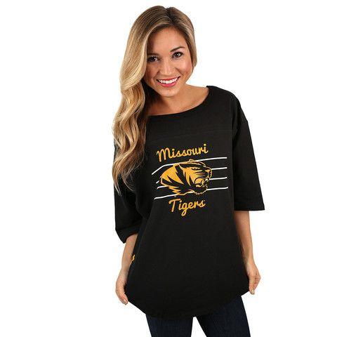 Helmet Jersey University of Missouri | Impressions Online Women's Clothing Boutique