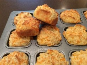 Low Carb Cheddar Biscuits from Low Carb Family - Anna