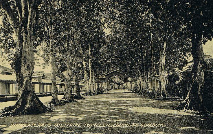 Tempo Doeloe #63 - Gombong, Military School Yard, 1912