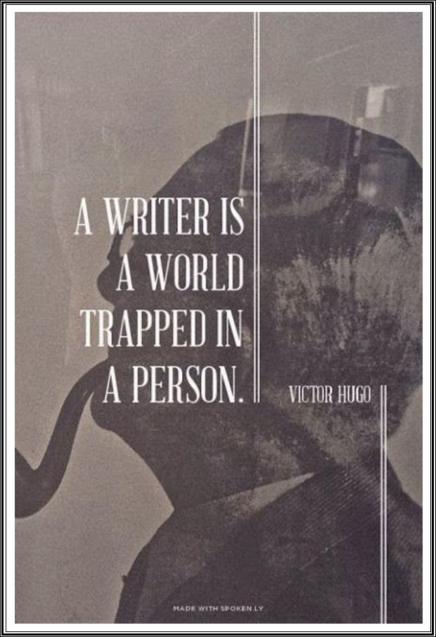 a world trapped in a person.