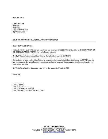 download template get business document templates help you termination letter sample example and format
