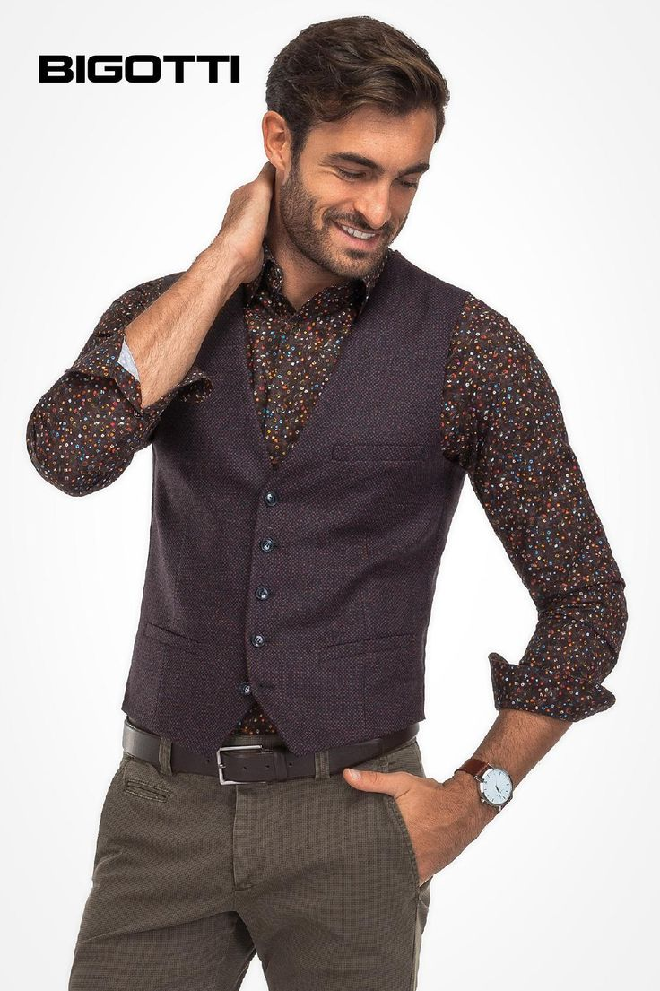 An #updated #classic #item, the #waistcoat #provides a #refined and #distinctive #style. #Now 30% OFF #sale www.bigotti.ro #mensfashion #moda #barbati #veste #stofa #menswear #mensclothing #promotie #reduceri #discounts #ootdmen #follow  #ootd #tinute #smart #outfits #wardrobe #stylingtips #fashiontag
