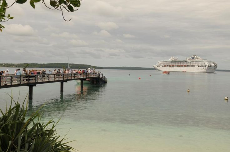 Dawn Princess Cruise Line - Lifou, New Caledonia
