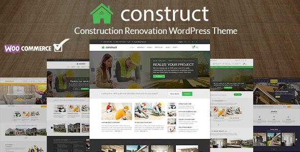 Construction Renovation Building Business WordPress Theme