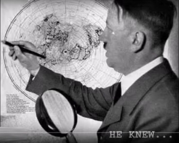 Гитлеру достоверно было известно, что Земля Плоская. О разработках Третьего Рейха в области изучения Плоской Земли сегодня известно немал...