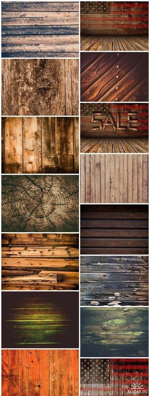 Dark Wood Background 15X JPEG