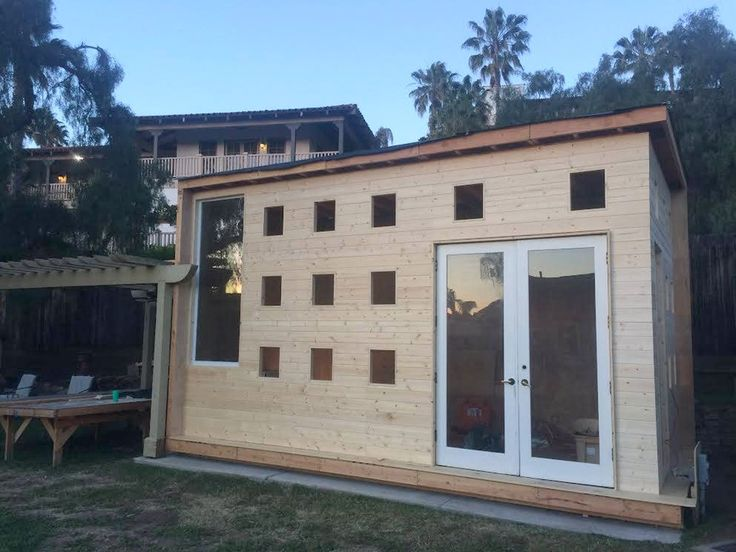City Design Tiny Homes Built from Leftover Construction Materials - Tiny House Blog