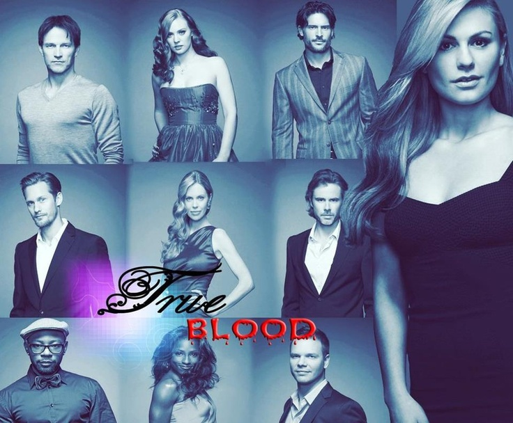 I love the cast of true blood