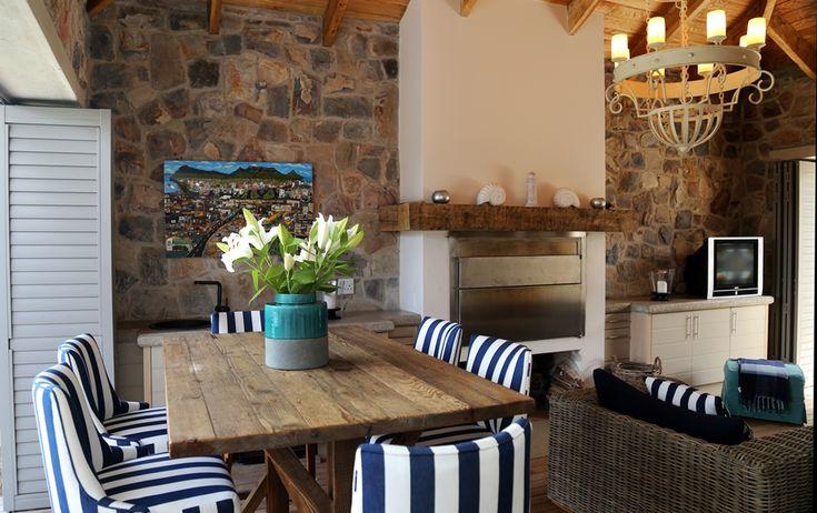Hermanus Vista: Fireplace & lounge. FIREFLYvillas, Hermanus, 7200 @FIREFLYvillas, bookings@fireflyvillas.com, #HermanusVista #FIREFLYvillas, #HermanusAccommodation