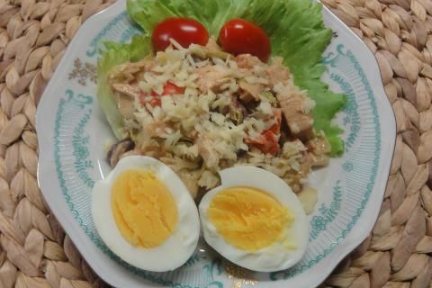 Jak udělat salát z kuřecího masa a fazolí | recept