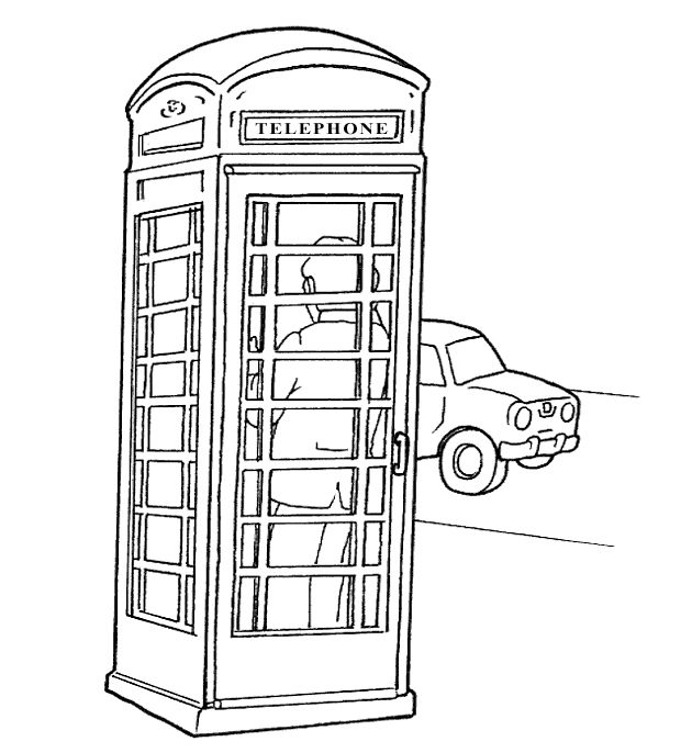 London Coloring Pages Union JackPreschool