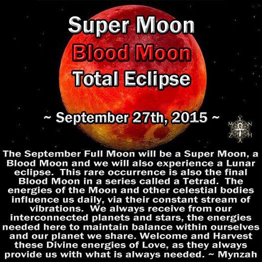 Blood moon tonight!