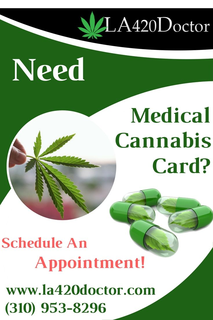Get your Los Angeles medical marijuana license online with 420 recommendation. Our leading physicians provide full medical cannabis treatment plans, verification, cannabis ID cards. Schedule your appointment to register a medical cannabis card today. To know more, Contact us: (310) 953-8296.