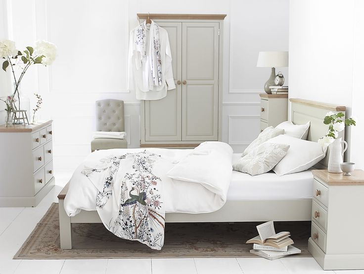 Country Cream Bedroom. | #onitfurniture |