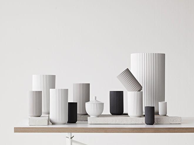 Lyngbyvasen - Den originale fra Porcelænsfabrikken Danmark - Lyngby Porcelæn