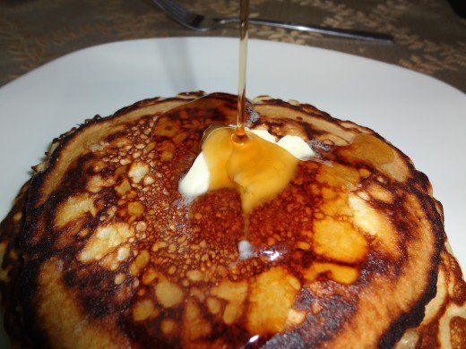Cracker Barrel-Style Pancakes