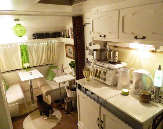 Enthused Monkey: Inside the Caravan - Part Two.  See the website - very nice design.