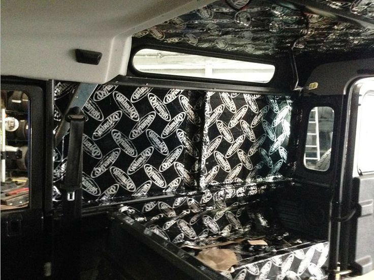 Soundproofing The Defender Stage 1 And Stage 2 Using