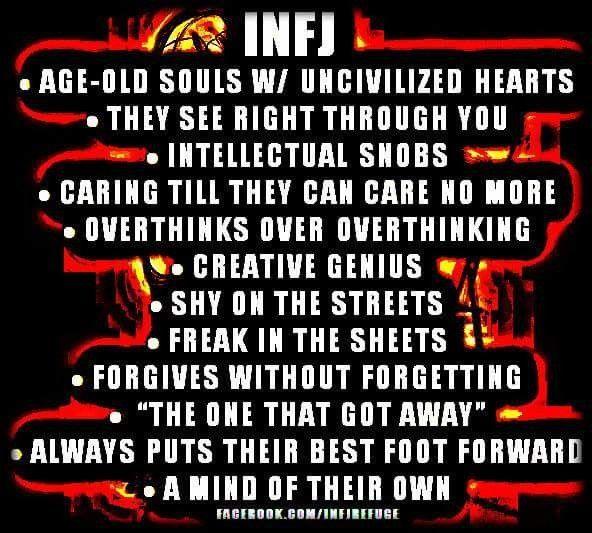 #INFJ fun facts