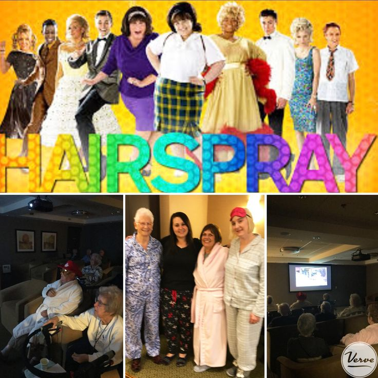 Our residents and staff had pajama day today to tie in with our evening pajama party event! #eveningfun #verveseniorliving #richmondhillretirement
