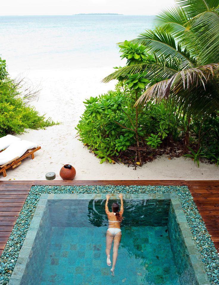 Soneva Fushi resort, Maldives.