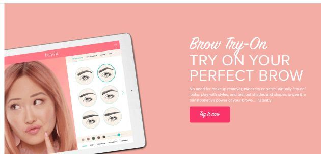 Artificial Reality Beauty Tools Are Growing Online