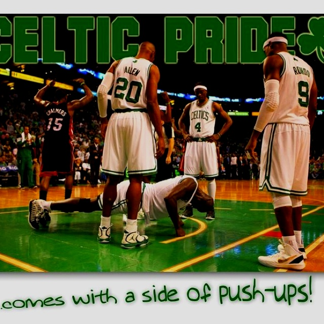 Celtics Pride!