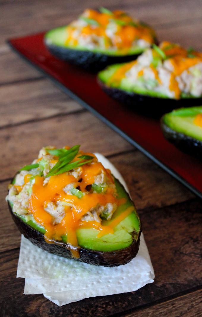 Avocado Tuna Melts. Yes, please!