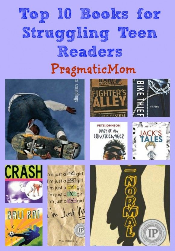 Have a struggling teen reader? Jim Westcott taught special education for fifteen years before deciding to write for children full-time. His first book, called The Gift, is a high interest chapter book for struggling readers. He's guest posting for me today! Top 10 Books for Struggling Teen Readers :: PragmaticMom
