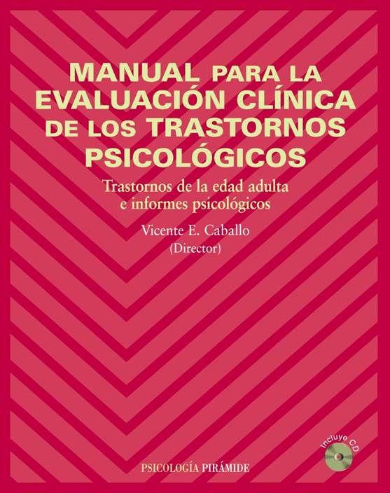 Manual Para La Evaluación Clínica De Los Trastornos Psicólogicos | Mente Informatica
