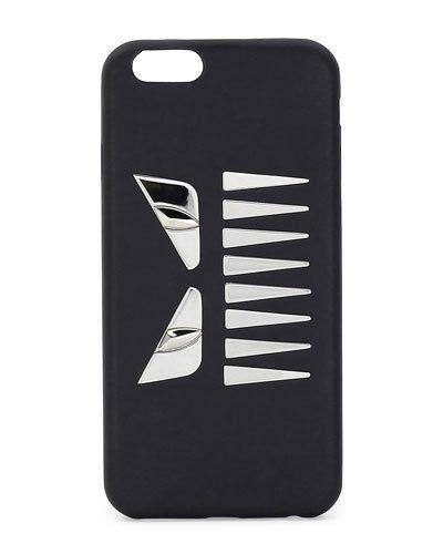 Fendi+Face+W+Teeth+Iphone+6+Case+Black+|+Bag