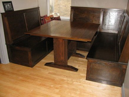 Irish Pub Style Booth And Table