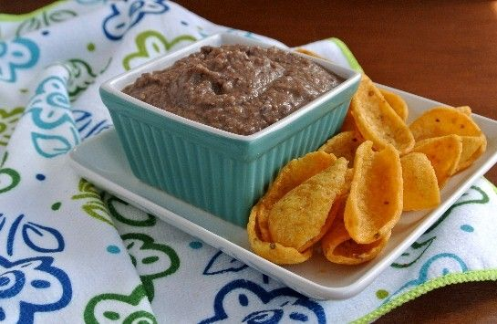 Mole Black Bean Dip Recipe - Just made this.  Added more chocolate, but dark chocolate.  So good.