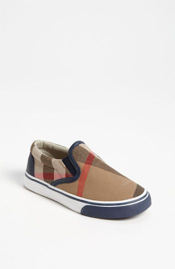 Burberry 'Linus' Slip-On (Baby, Walker, Toddler, Little Kid & Big Kid) available at Nordstrom