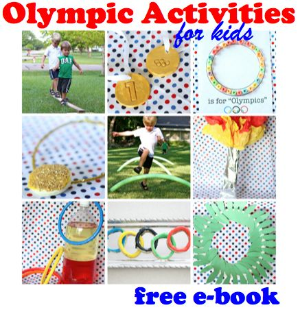 5 great, free summer Olympic packs & ideas for Kids