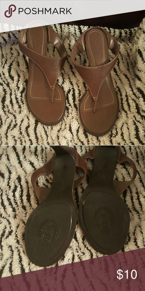 Shoes Leather sandals champs Shoes Sandals