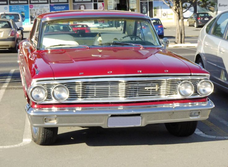 1964 Ford Galaxie 500XL recently see in New Zealand.
