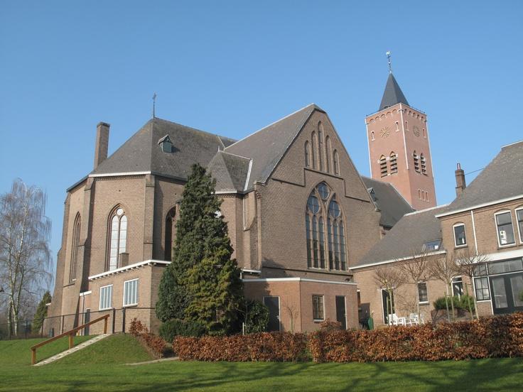 De kerk van Giesbeek (gemeente Zevenaar).