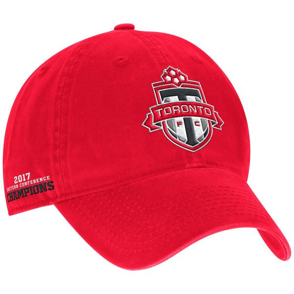 * Men's Toronto FC adidas Red 2017 MLS Eastern Conference Champions Adjustable Hat, Your Price: $25.99